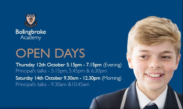 Bolingbroke Open Day 2017