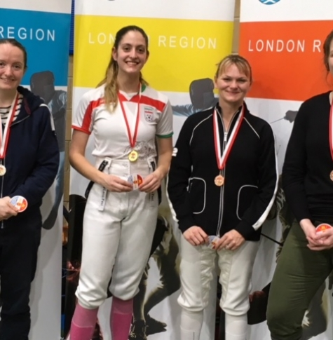 London Region Intermediate Fencing Championships